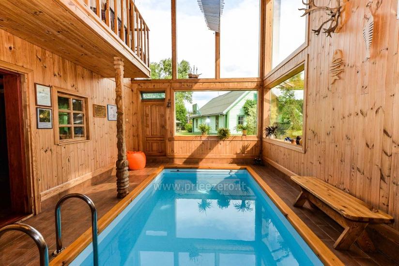 Villa Žiogeliai in Druskininkai: Ferienhäuser, Sauna - 17