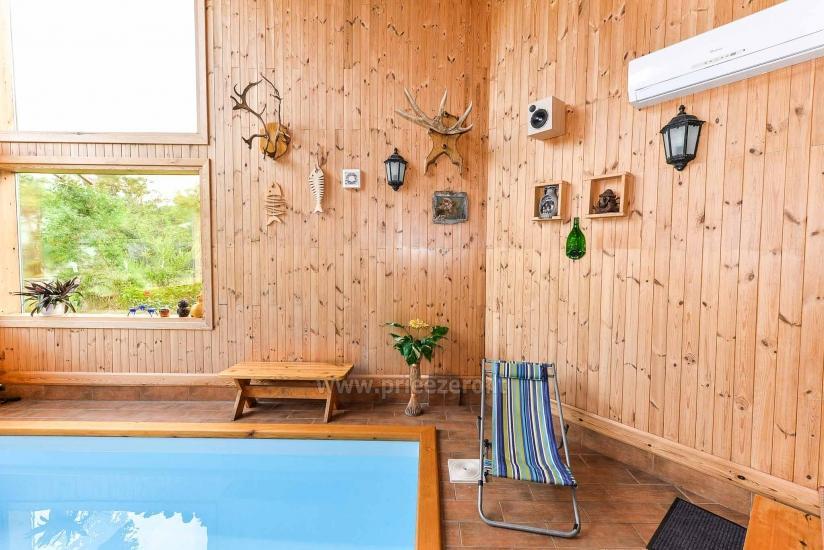 Villa Žiogeliai in Druskininkai: Ferienhäuser, Sauna - 19