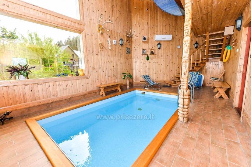 Villa Žiogeliai in Druskininkai: Ferienhäuser, Sauna - 20