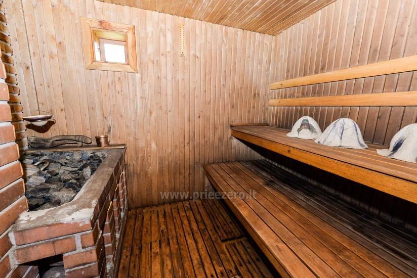 Villa Žiogeliai in Druskininkai: Ferienhäuser, Sauna - 22