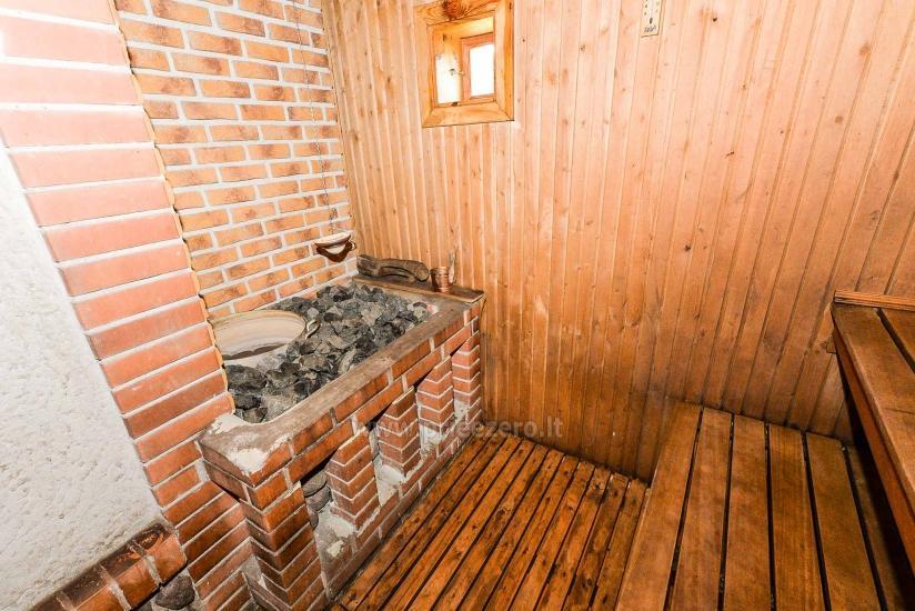 Villa Žiogeliai in Druskininkai: Ferienhäuser, Sauna - 23
