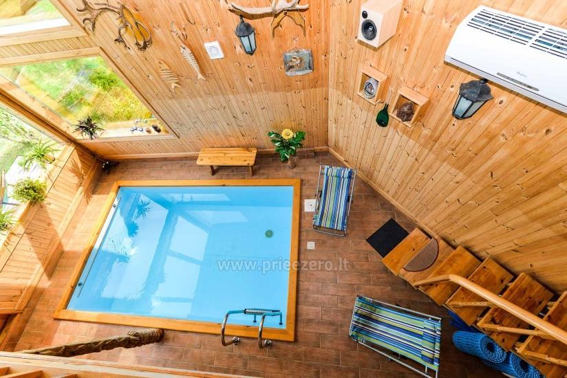 Villa Žiogeliai in Druskininkai: Ferienhäuser, Sauna - 27