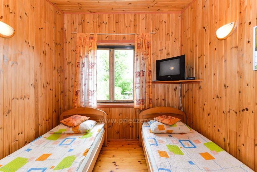 Villa Žiogeliai in Druskininkai: Ferienhäuser, Sauna - 33