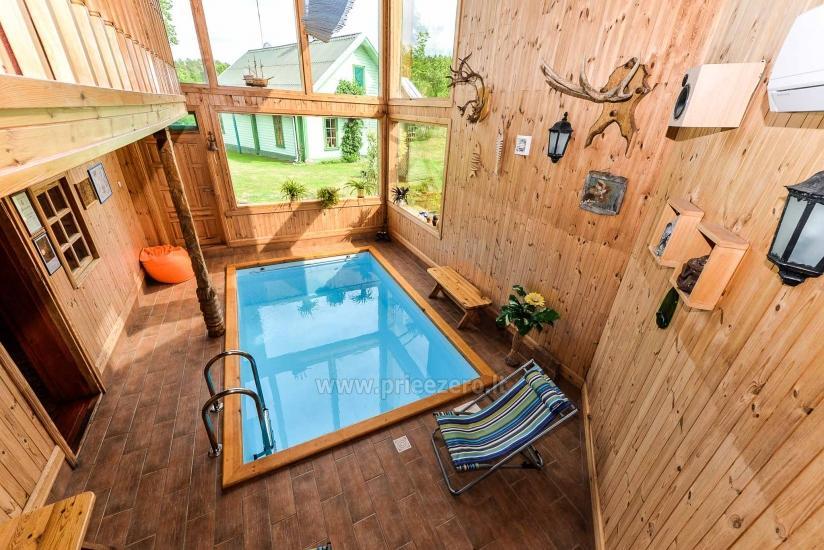 Villa Žiogeliai in Druskininkai: Ferienhäuser, Sauna - 37