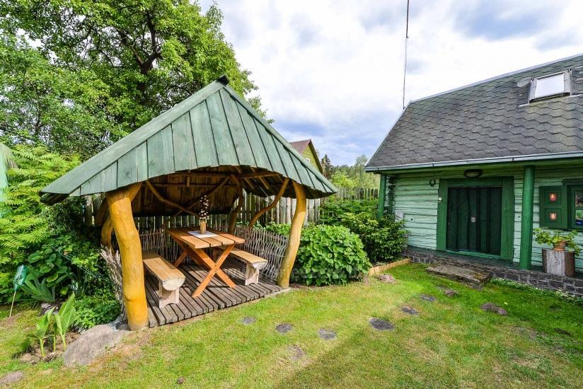 Villa Žiogeliai in Druskininkai: Ferienhäuser, Sauna - 41