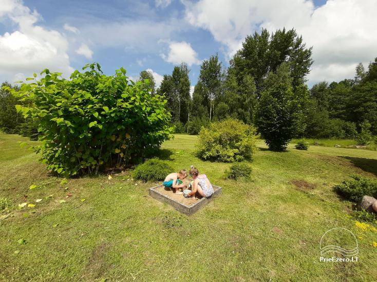 Countryside homestead near Zapsis lake in Lazdijai region, in Lithuania - 23