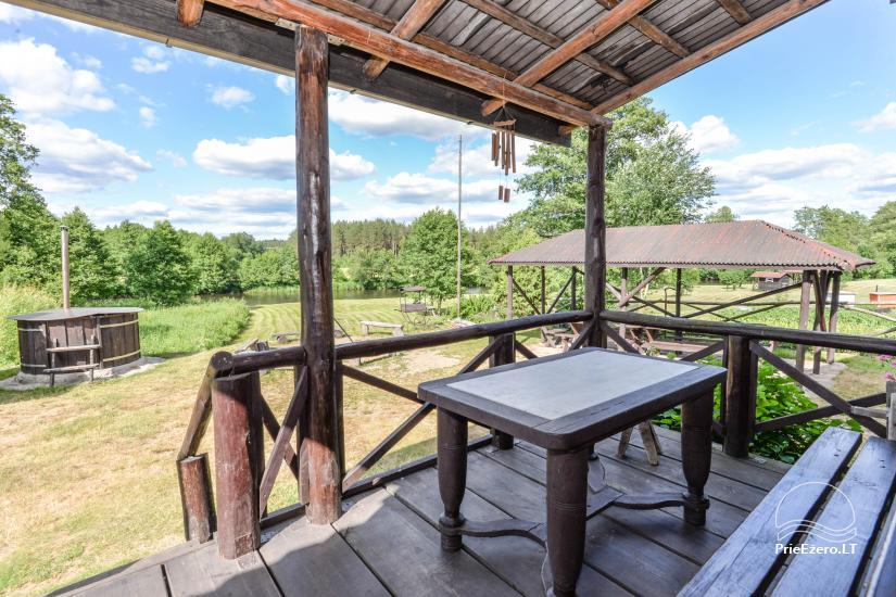 Camping GRIKUTIS with sauna, volleyball and basketball courts, hammocks - 4