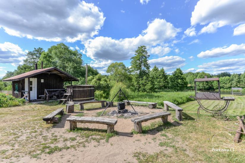 Camping GRIKUTIS with sauna, volleyball and basketball courts, hammocks - 2