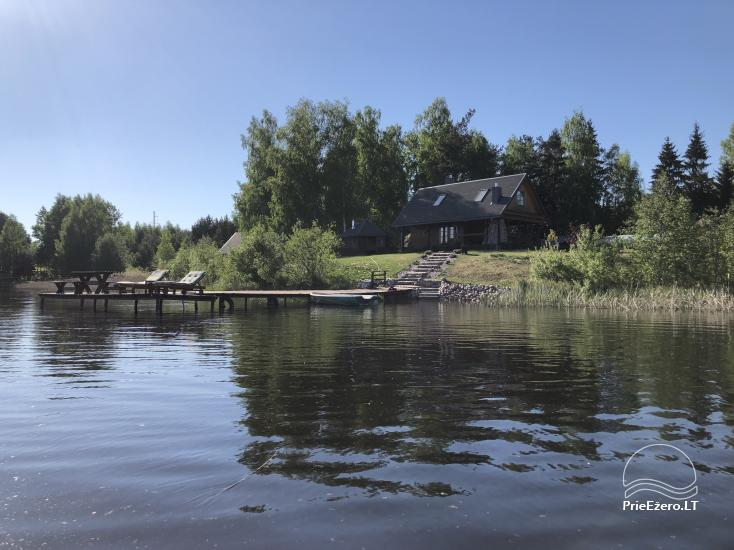 Holiay cottage on the lakeshoe - Authentic holiday only for you in Utena district - 2
