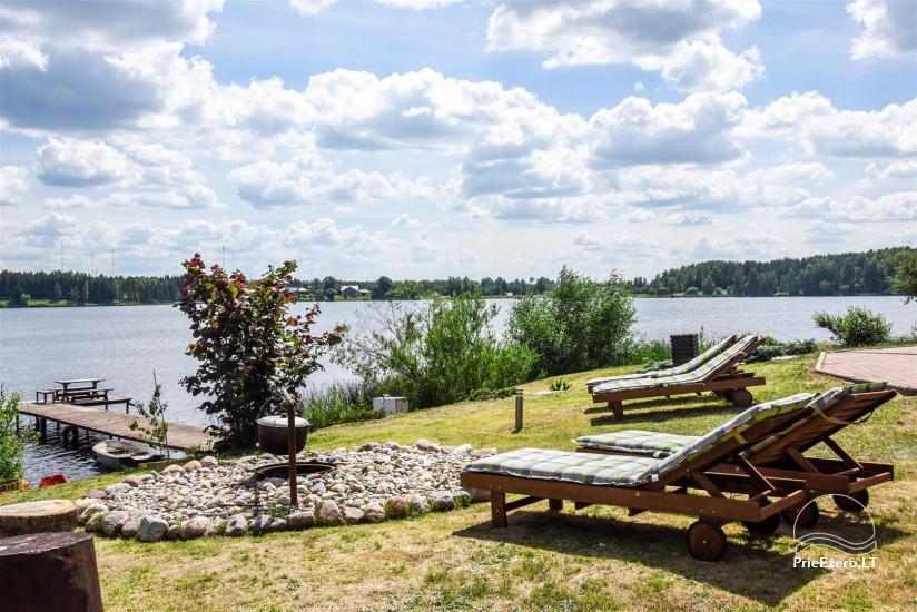 Домик на берегу озера - Отдых только для Вас в Утенском районе - 5