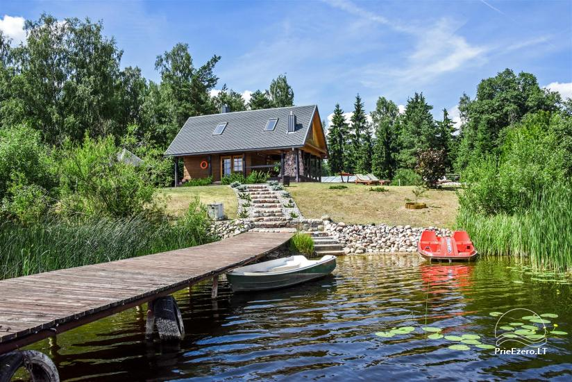 Holiay cottage on the lakeshoe - Authentic holiday only for you in Utena district - 3