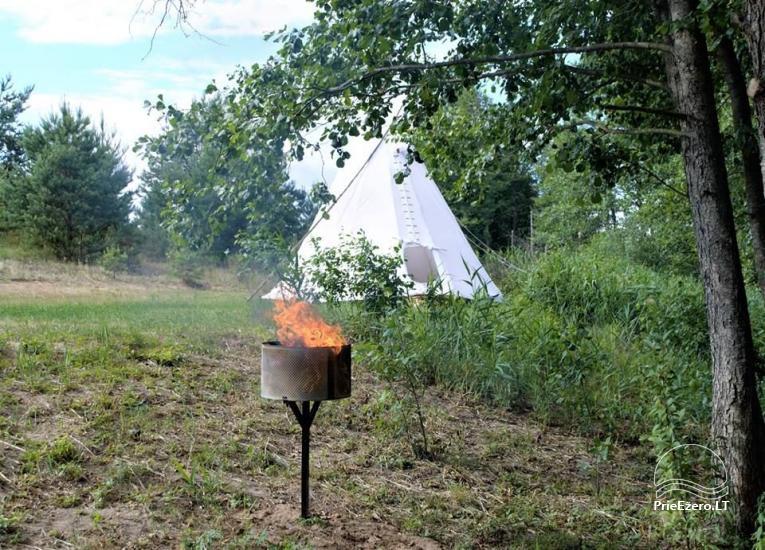 Camping Dulga am See bei Druskininkai - 5