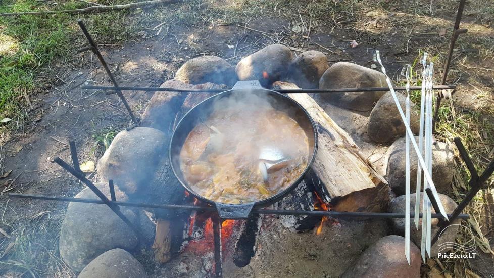 Кемпинг «Дульга» у озера возле Друскининкай - 8