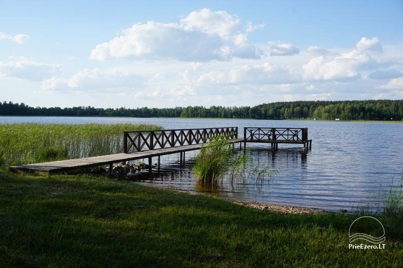 Sauna for your rest on the shore of the lake in Moletai district, Lithuania - 2