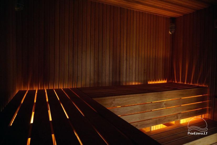 Privates Sauna für Ihren Rest auf dem Ufer des Sees in Moletai-Bezirk, Litauen - 3
