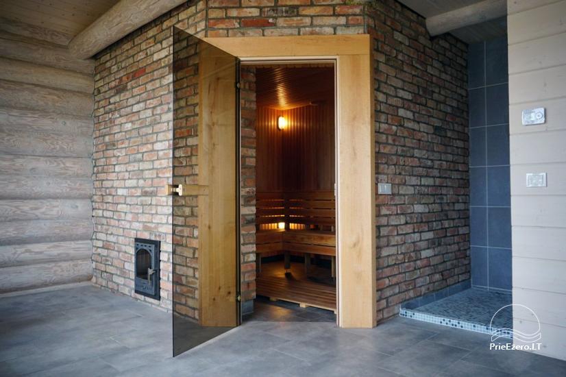 Privates Sauna für Ihren Rest auf dem Ufer des Sees in Moletai-Bezirk, Litauen - 5