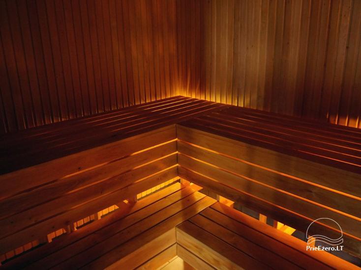 Privates Sauna für Ihren Rest auf dem Ufer des Sees in Moletai-Bezirk, Litauen - 4