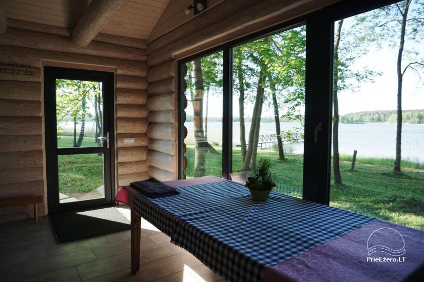 Частная сауна для вашего отдыха на берегу озера в районе Молетай, Литва - 1