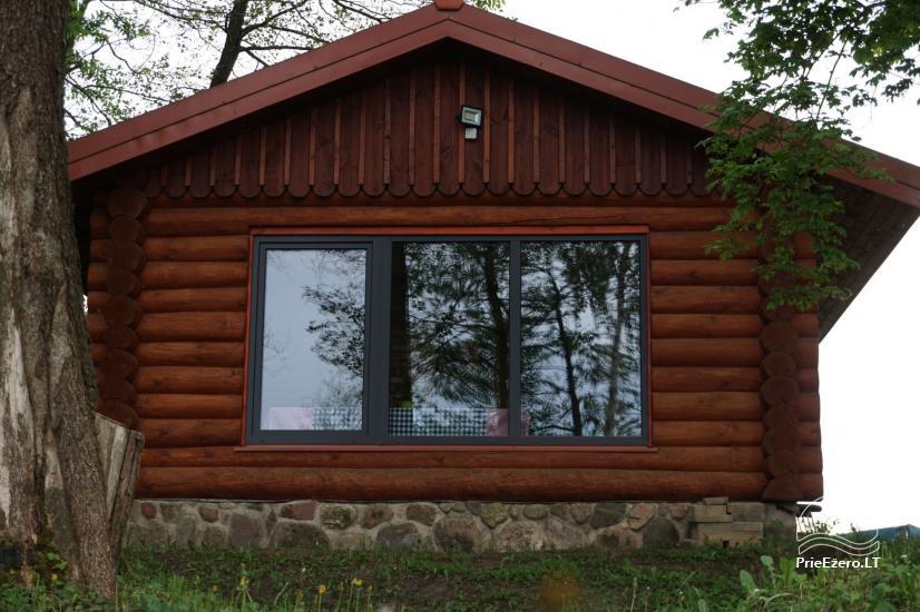 Частная сауна для вашего отдыха на берегу озера в районе Молетай, Литва - 8