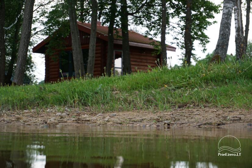 Частная сауна для вашего отдыха на берегу озера в районе Молетай, Литва - 9