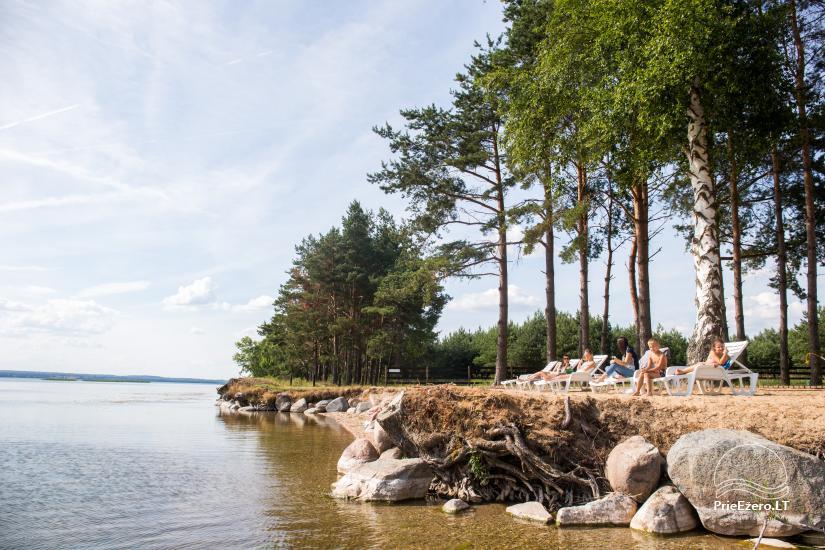 Bungalowy dla rodzinnego wypoczynku nad jeziorem Dusios w Lazdijai, Litwa - 5