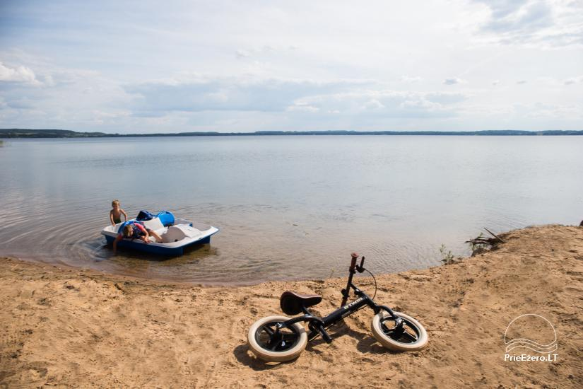 Bungalows for family recreation at Dusios Lake in Lazdijai district, Lithuania - 11