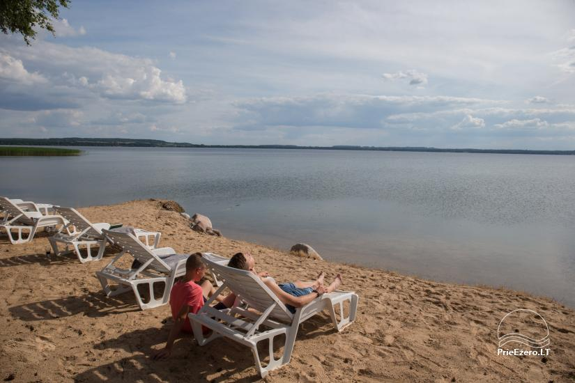Bungalows for family recreation at Dusios Lake in Lazdijai district, Lithuania - 16