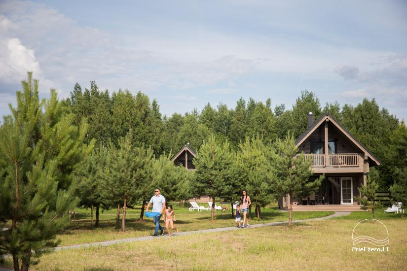 Bungalows for family recreation at Dusios Lake in Lazdijai district, Lithuania - 25