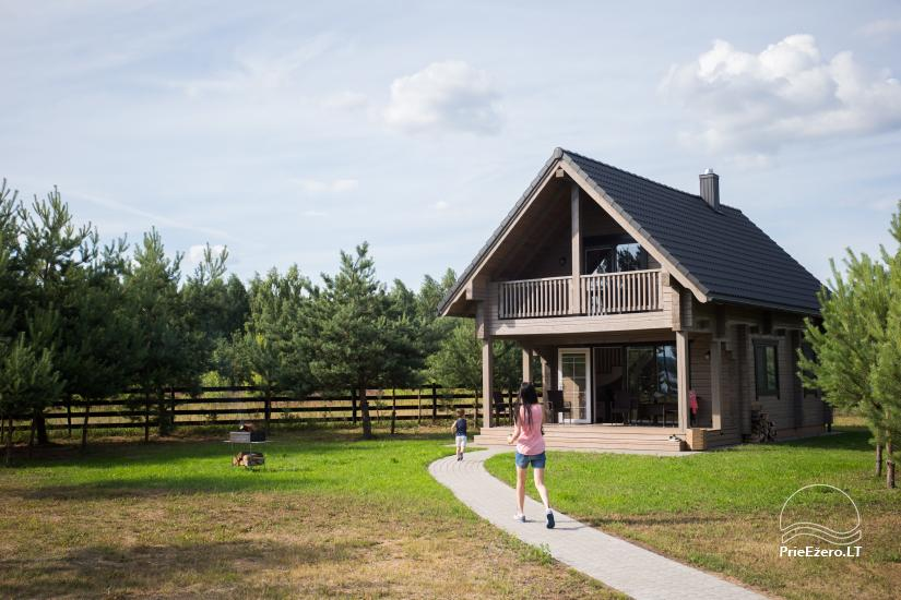 Bungalows for family recreation at Dusios Lake in Lazdijai district, Lithuania - 36