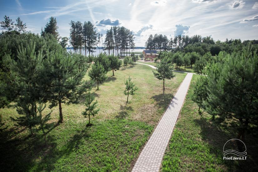 Bungalows for family recreation at Dusios Lake in Lazdijai district, Lithuania - 40