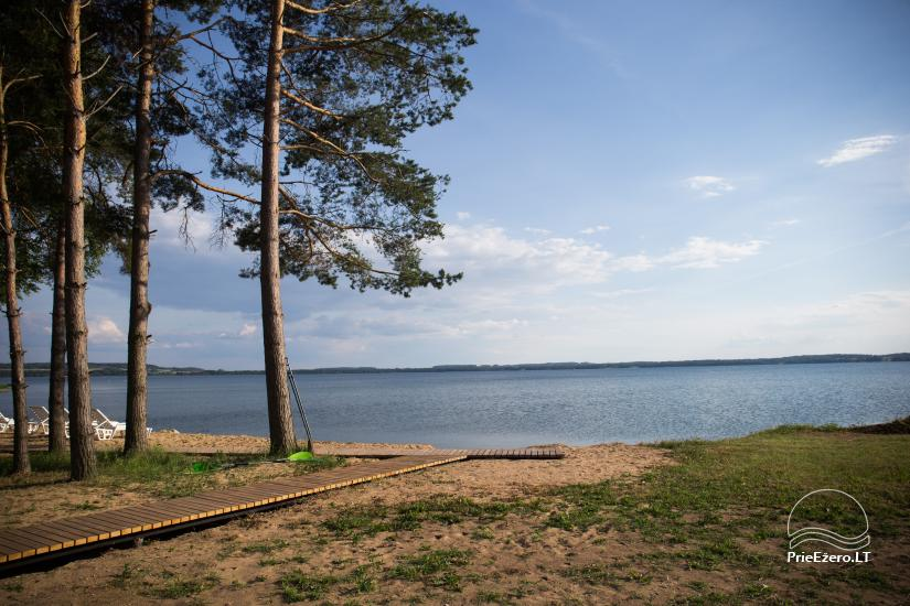 Bungalows for family recreation at Dusios Lake in Lazdijai district, Lithuania - 46