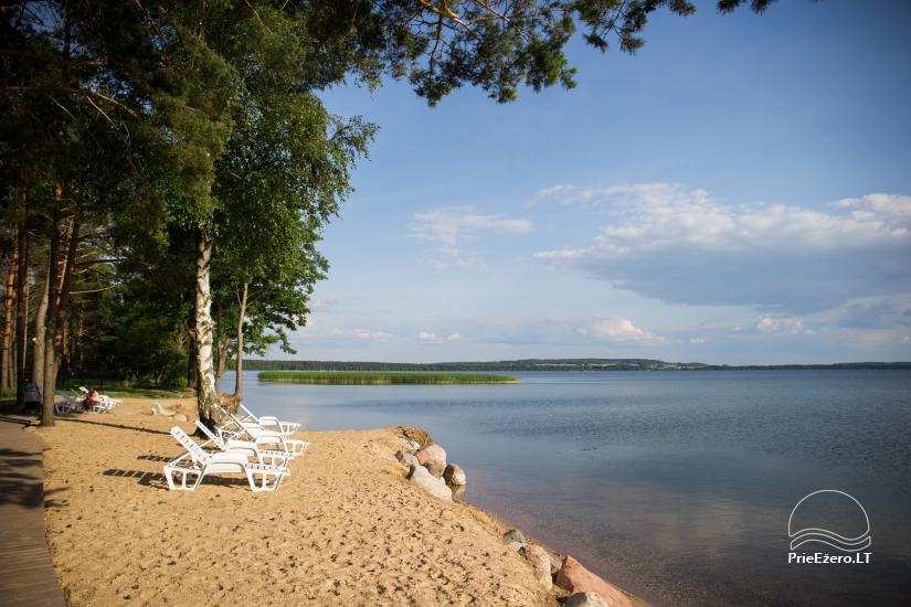 Bungalowy dla rodzinnego wypoczynku nad jeziorem Dusios w Lazdijai, Litwa - 3