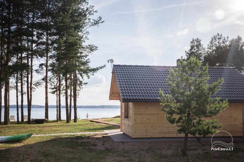 Bungalowy dla rodzinnego wypoczynku nad jeziorem Dusios w Lazdijai, Litwa - 4