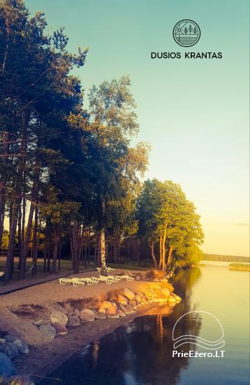 Bungalows for family recreation at Dusios Lake in Lazdijai district, Lithuania - 48