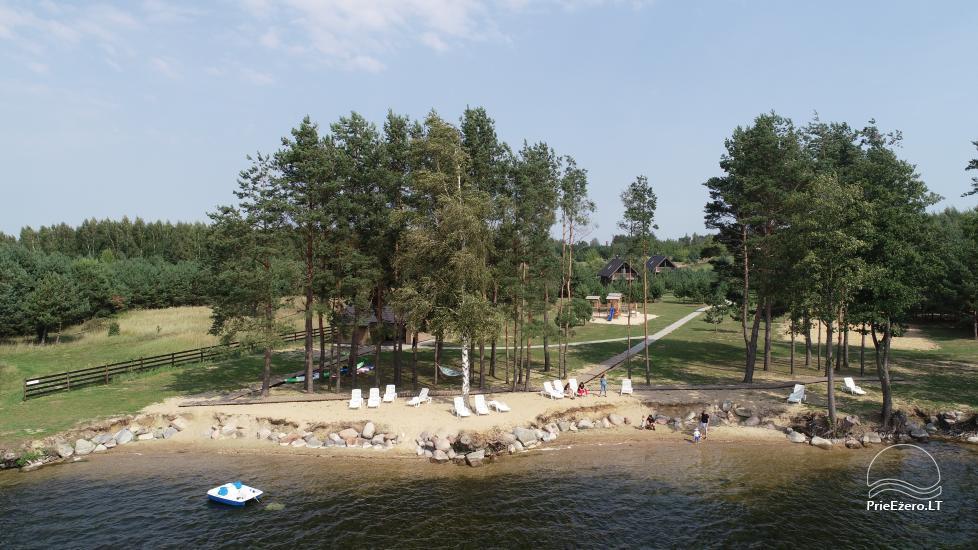Bungalowy dla rodzinnego wypoczynku nad jeziorem Dusios w Lazdijai, Litwa - 8