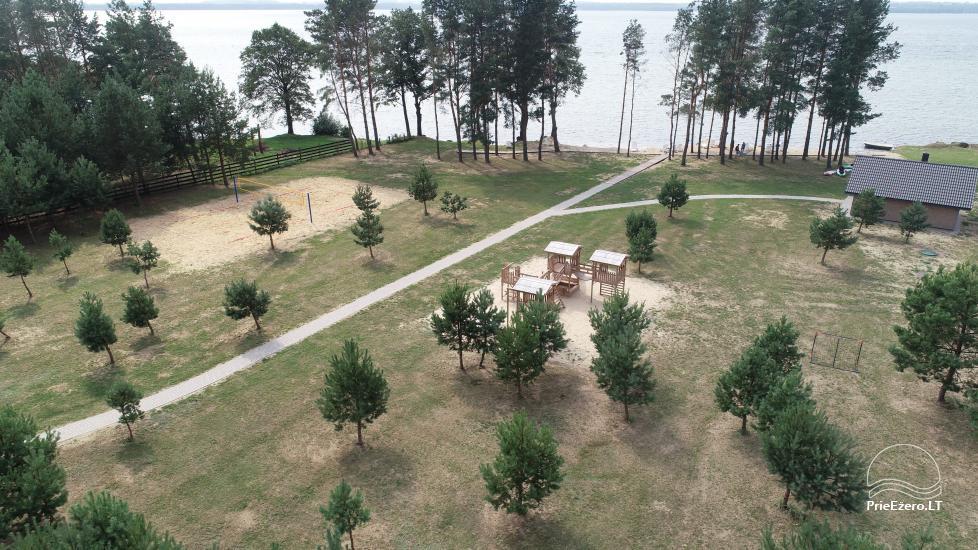 Bungalowy dla rodzinnego wypoczynku nad jeziorem Dusios w Lazdijai, Litwa - 9