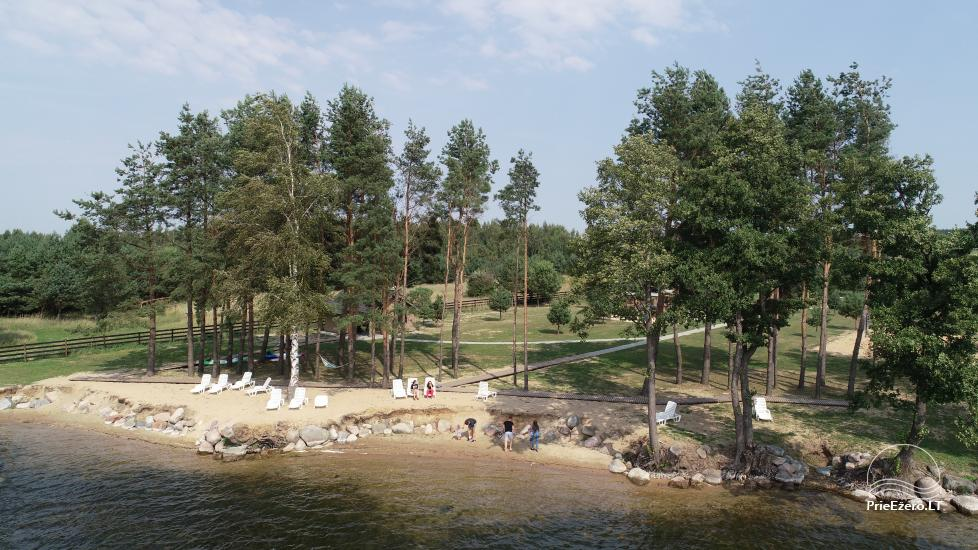 Bungalows for family recreation at Dusios Lake in Lazdijai district, Lithuania - 17