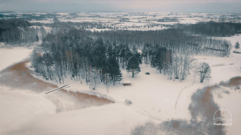 Yсадьба Žiburiai на озере - 2