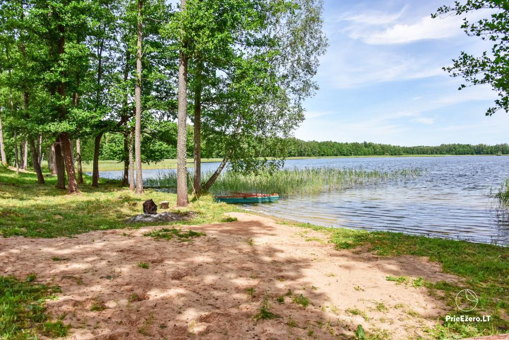 Homestead by the lake Avilys in Zarasai district, Lithuania - 47
