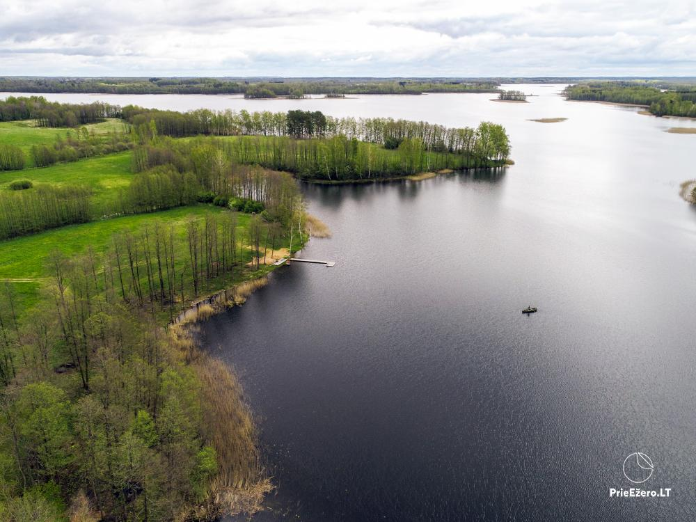 Homestead by the lake Avilys in Zarasai district, Lithuania - 20