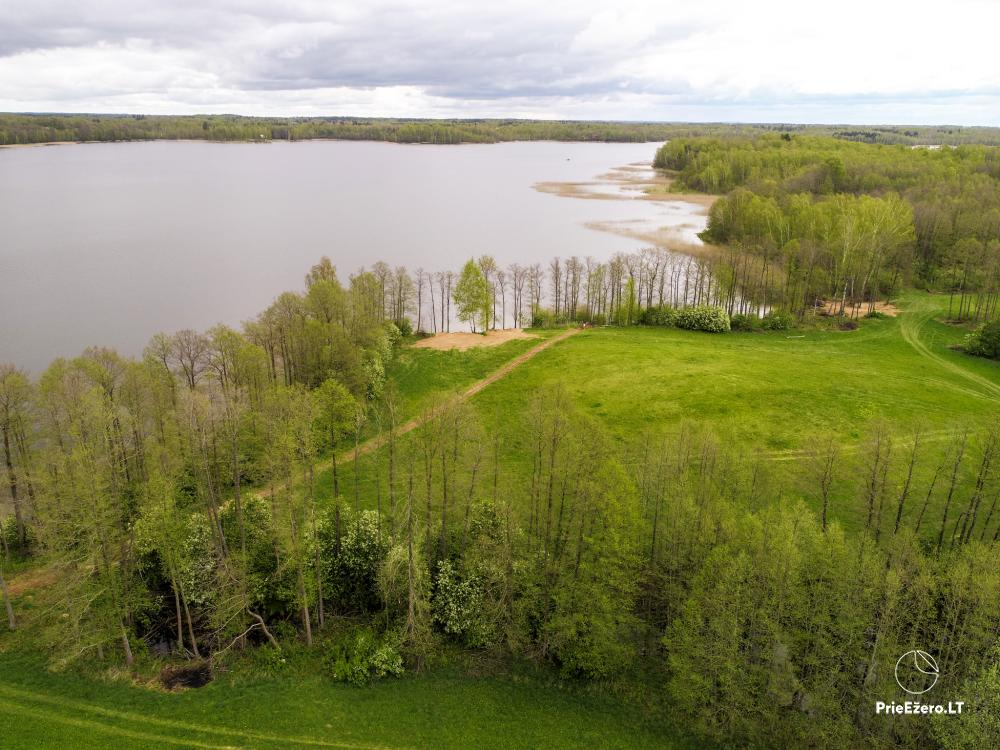 Homestead by the lake Avilys in Zarasai district, Lithuania - 27