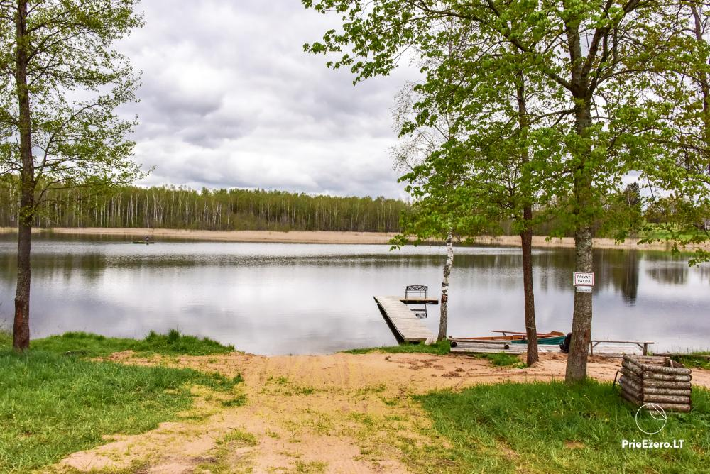 Homestead by the lake Avilys in Zarasai district, Lithuania - 32