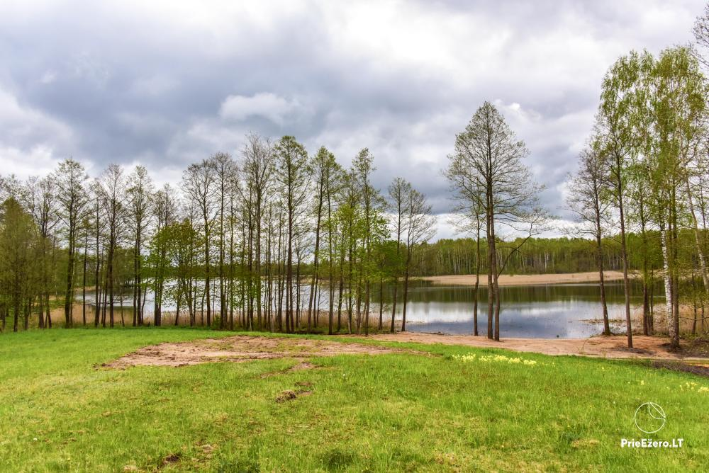 Homestead by the lake Avilys in Zarasai district, Lithuania - 44