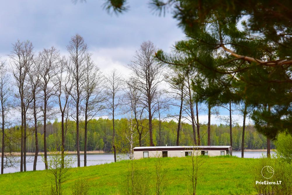 Homestead by the lake Avilys in Zarasai district, Lithuania - 43