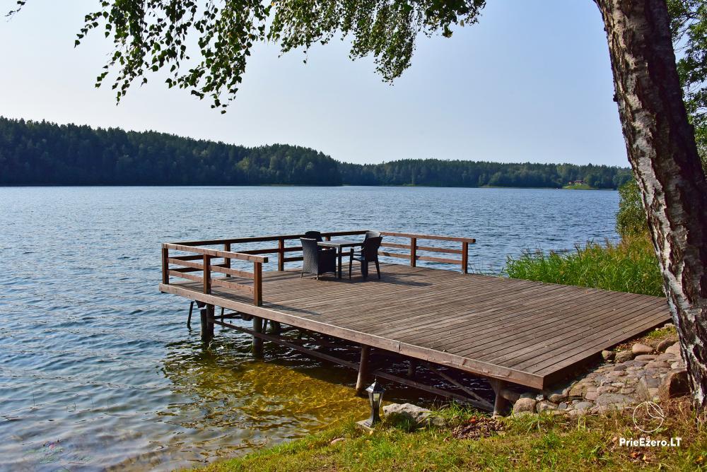 Homestead at the lake in Moletai district Villa Baluosas - 22