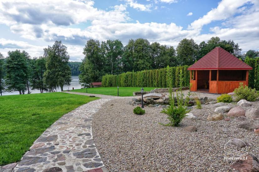 Homestead at the lake in Moletai district Villa Baluosas - 18