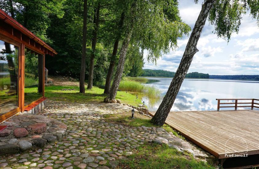 Homestead at the lake in Moletai district Villa Baluosas - 20