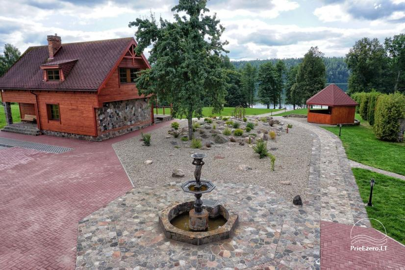 Homestead at the lake in Moletai district Villa Baluosas - 14