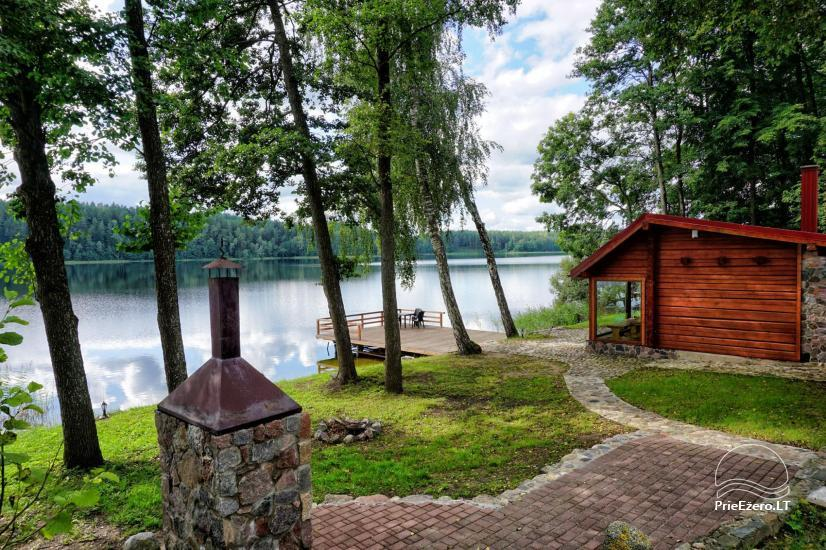 Homestead at the lake in Moletai district Villa Baluosas - 17