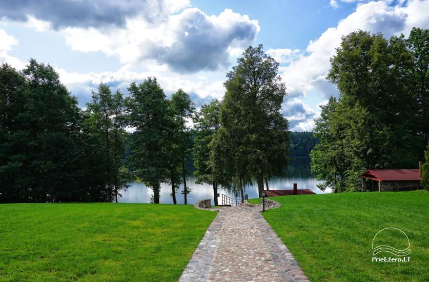 Homestead at the lake in Moletai district Villa Baluosas - 24